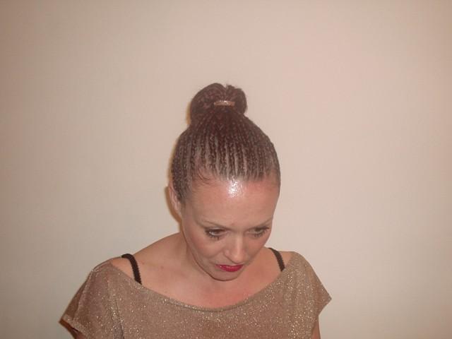 Braid Upstyle (Front)