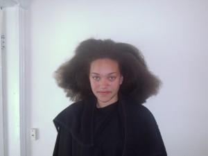 Tamara's Hair Before (Front View)
