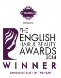English Hair and Beauty Awards 2014 Winner