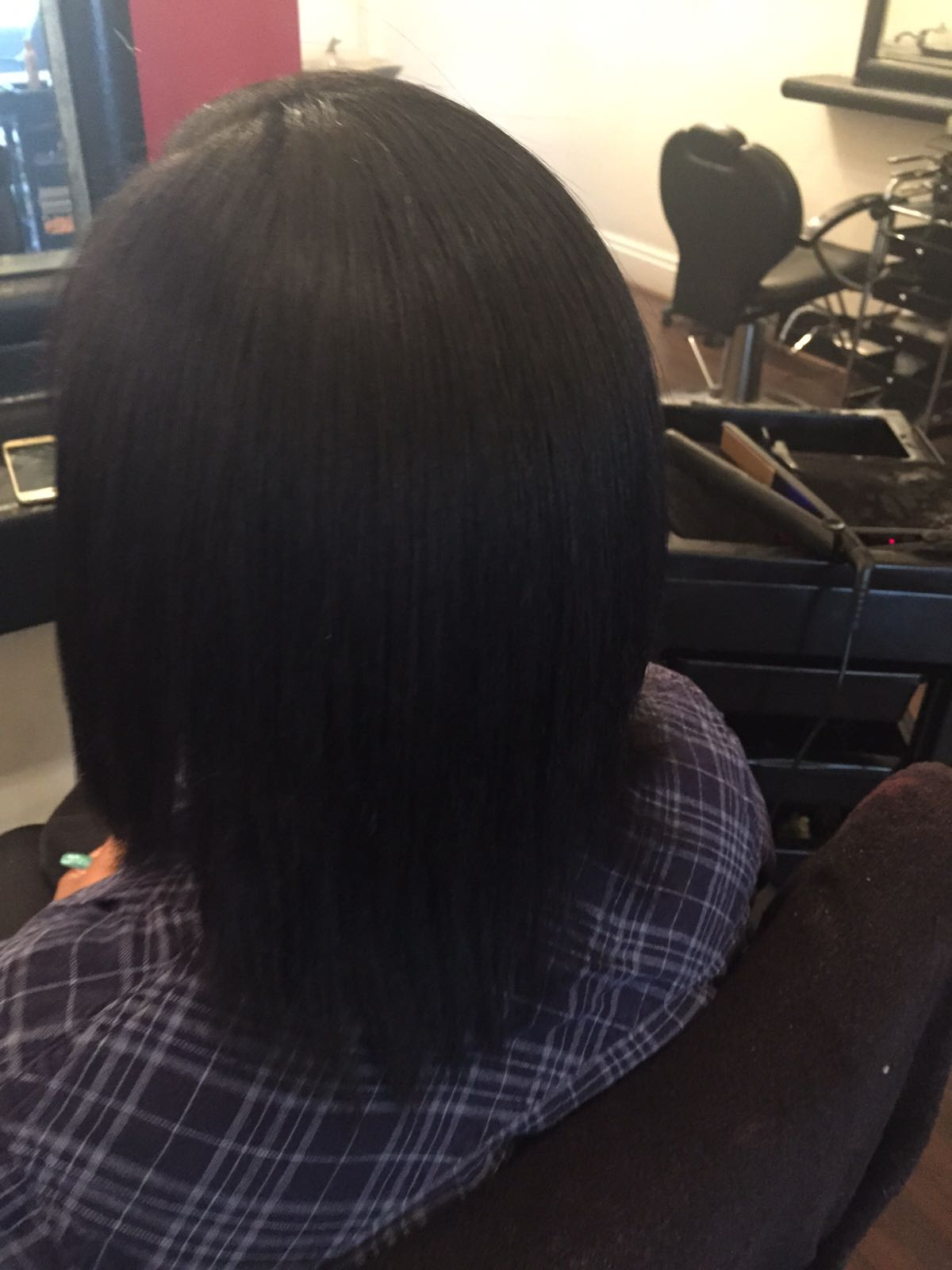 After - Brazilian Keratin Treatment