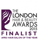 London Hair and Beauty Awards 2015 Finalist