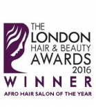 London Hair and Beauty Awards 2016 Winner