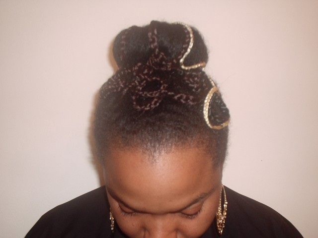 Special Occasion Updo (Front)