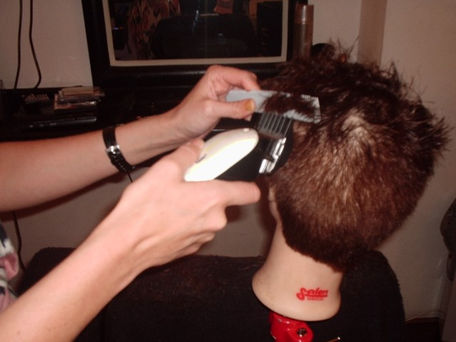 Academy - Hair Cutting Course.
