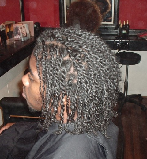 Academy Course - Natural Twist Style by Student - after