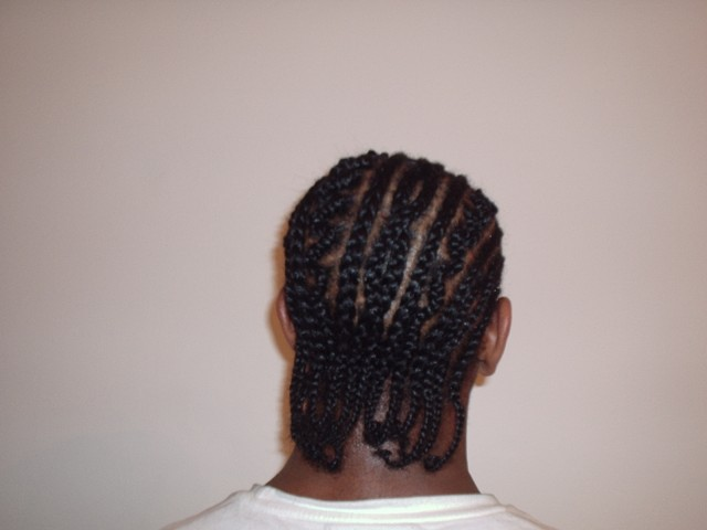 Cornrow Pattern Style4 - Mens