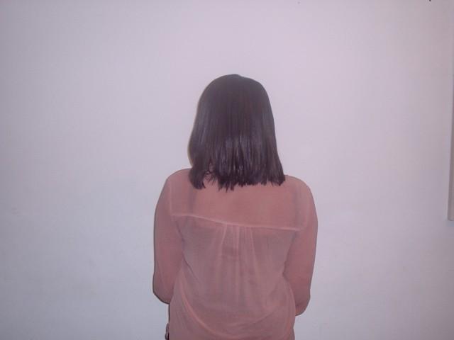 Full Head Shoulder Length Weave Back View (After)