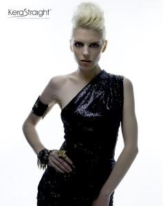 Short Blonde - Colour Protect KeraStraight Treatment (Editorial)