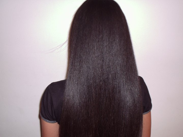 brazilian keratin treatment on mixed race after